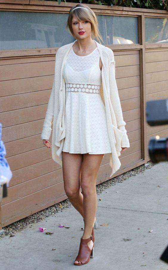 Le look printanier de Taylor Swift © Abaca
