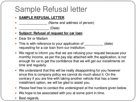 photo writing denial letter for claim images example overpaid tax - refusal letter