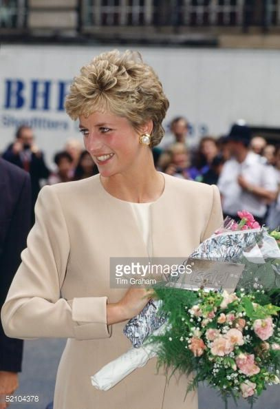 JUNE 22: Diana, Princess Of Wales, Patron Of The Institute For The Study Of Drug Dependency, Arriving The The Isdd Media Awards Lunch At The Cafe Royal In Regent Street 1993