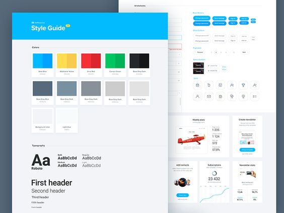 UI Style Guide by Mi