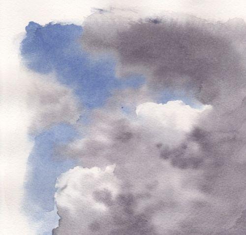 Peindre Un Ciel A L Aquarelle Atelier Portrait Pastel Aquarelle