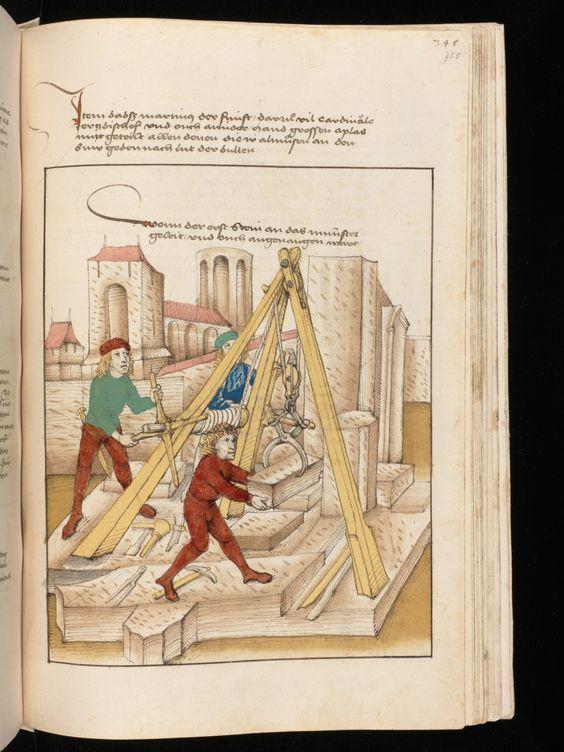 Bern, Burgerbibliothek / Mss.h.h.I.16 – Diebold Schilling, Spiezer Chronik / p. 755