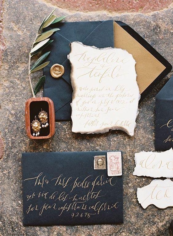 10 Incredibly Unique Wedding Invitations | Design Fixation