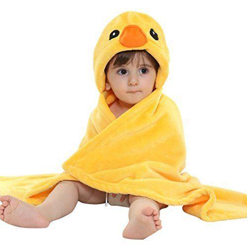 Vine Manta para ni/ños mantita-arrullo con capucha dise/ño de animal para beb/é