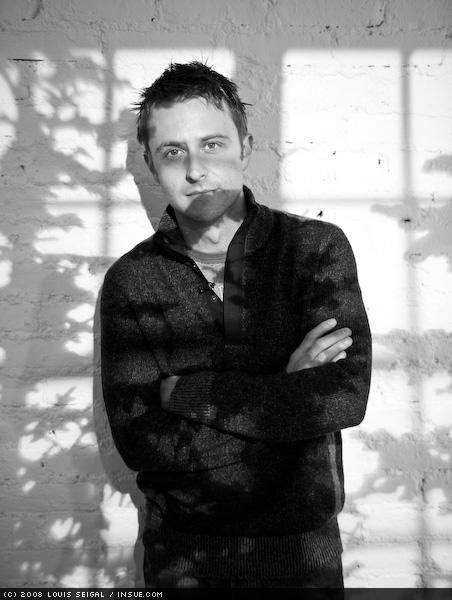 Shot at the Wired Store in NY. THE TREE SHADOWS ARE A LIE. (From Chris Hardwick's Myspace)