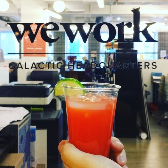 WeWork Blood Orange Margarita Recipe - Click to see the video