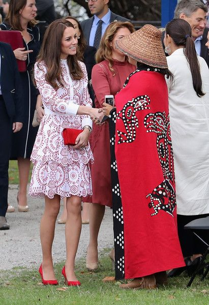 Kate Middleton Photos Photos - Catherine, Duchess of Cambridge smiles as she visits the Canadian Coast Guard and Vancouver First Responders Event at Kitsilano Coastguard Station on September 25, 2016 in Vancouver, Canada. Prince William, Duke of Cambridge, Catherine, Duchess of Cambridge, Prince George and Princess Charlotte are visiting Canada as part of an eight day visit to the country taking in areas such as Bella Bella, Whitehorse and Kelowna - 2016 Royal Tour to Canada of the Duke and…