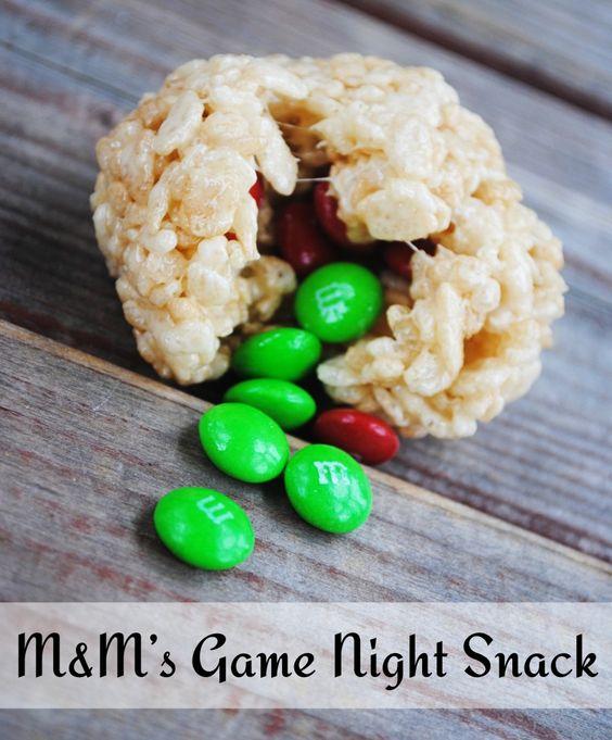 M&M's Game Night Snack