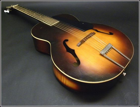 Dating silvertone archtop guitars