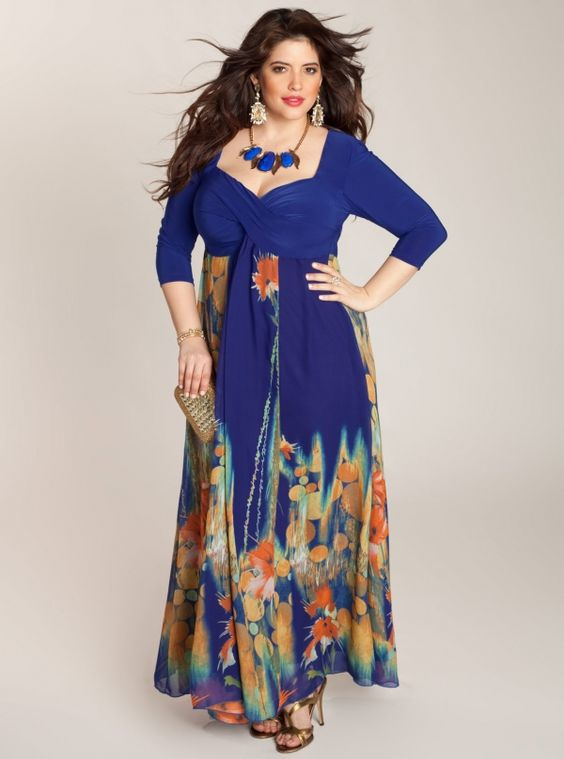 Plus Size Maxi Dresses Ideas