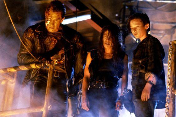 Terminator 2: Judgment Day (1991) - Arnold Schwarzenegger, Linda Hamilton & Edward Furlong