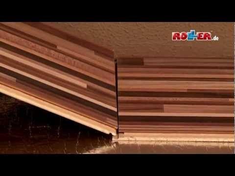 ▶ Laminat verlegen - ROLLER Do it yourself - YouTube
