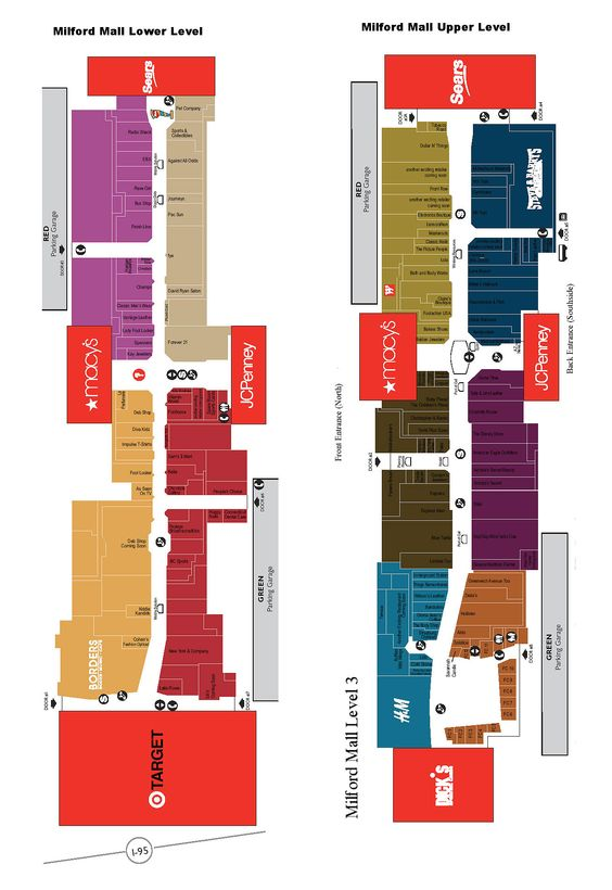 Sawgrass Mall Map : sawgrass, Milford, Directory, Lost?, Floor, Design,, Retail, Store, Layout,