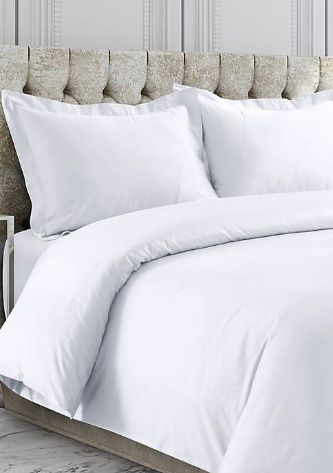 Tribeca Living 750 Thread Count Cotton Sateen Oversized Duvet Cover Set Tribeca Living Duvet Cover Sets Duvet Covers