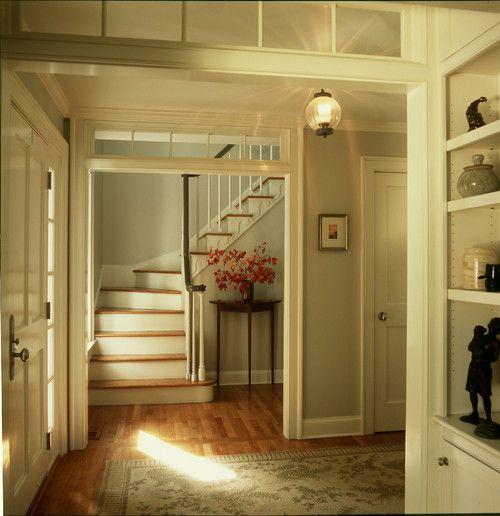 Paint Color Entryway Trim Benjamin Moore White Dove