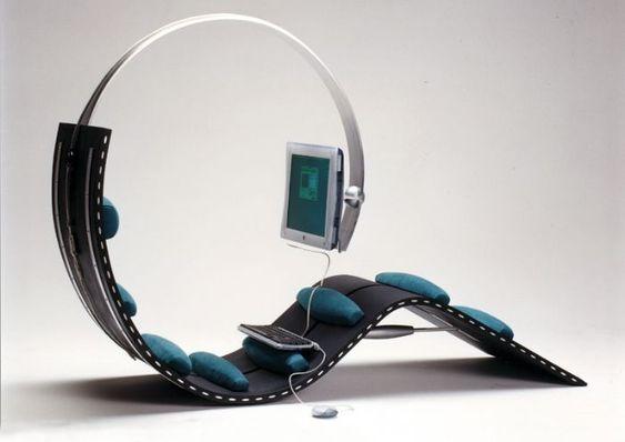 """Surf Chair by Kenneth Lylover - winner of """"Best Product"""",  Scandinavian Furniture Fair 2000, Copenhagen, Denmark."""