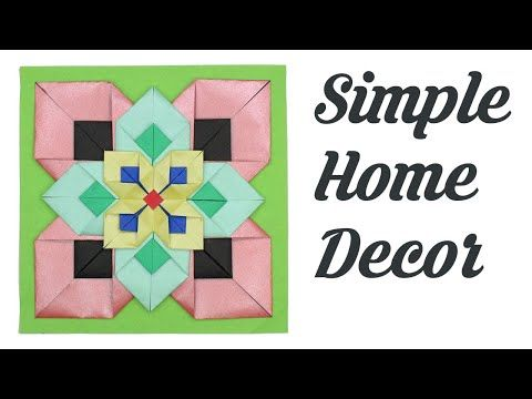 Origami Photo Frame : Picture Frame Tutorial - YouTube | Origami ... | 360x480