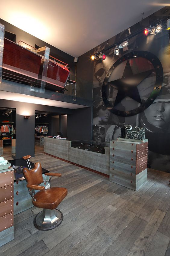 Jet Set Flagship Store St. Moritz Evolution - Design - Production - Installation