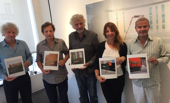 Jury's members of La Bourse du Talent 2016 after deliberation, with François Hébel Pierre Bessard Adelie Genestar de Ipanema Laurent Monlaü and the philospher, this morning in Le Marais - Paris. - http://www.editionsbessard.com/non-classe/jurys-members-of-la-bourse-du-talent-2016-after-deliberation-with-francois-hebel-pierre-bessard-adelie-genestar-de-ipanema-laurent-monlau-and-the-philospher-this-morning-in-le-marais-paris/