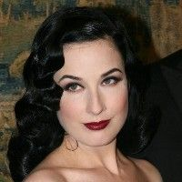1940's wedding hair style