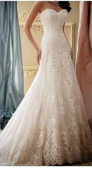 David Tutera wedding lace is everything