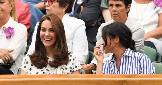 Meghan Markle Makes Her Duchess Debut at Wimbledon