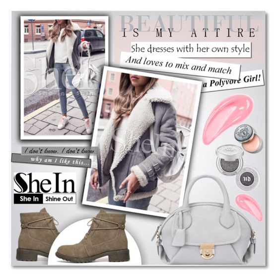 """""""SheIn"""" by janee-oss ❤ liked on Polyvore featuring Michael Kors, Urban Decay and Bobbi Brown Cosmetics"""