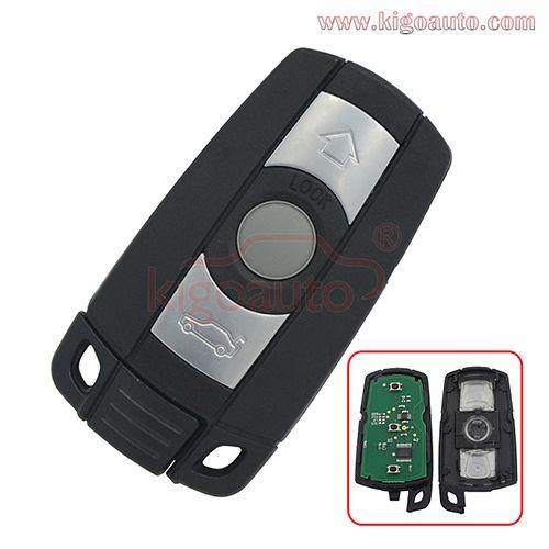 Kr55wk49127 Kr55wk49123 Smart Key 3button For Bmw 1 3 5 Series E36