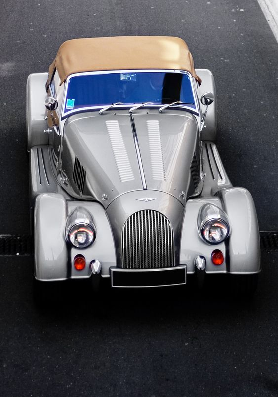 #Morgan My life's car