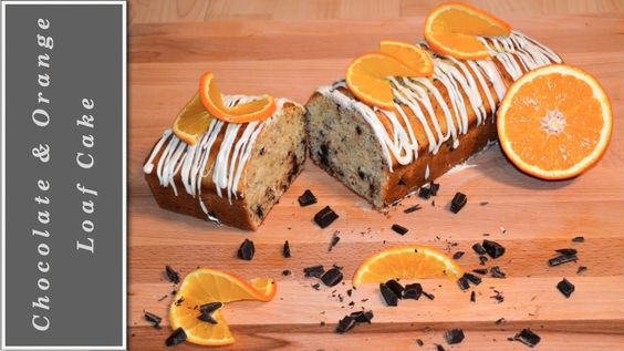 The best Chocolate & Orange Loaf Cake - delicious!