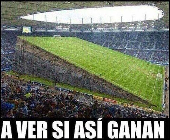 El Mundo De Los Borrachos [Humor] by Nelson Pereira: Remodelan Estadio...