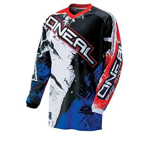 ONeal Element KINDER MX Jersey SHOCKER orange MotoCross Enduro MTB Fahrrad Shirt