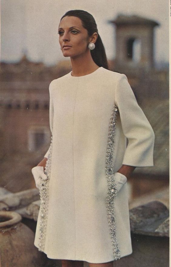bygonefashion: Vintage pattern books 1968-69 I would definitely have made this dress, my style back then...