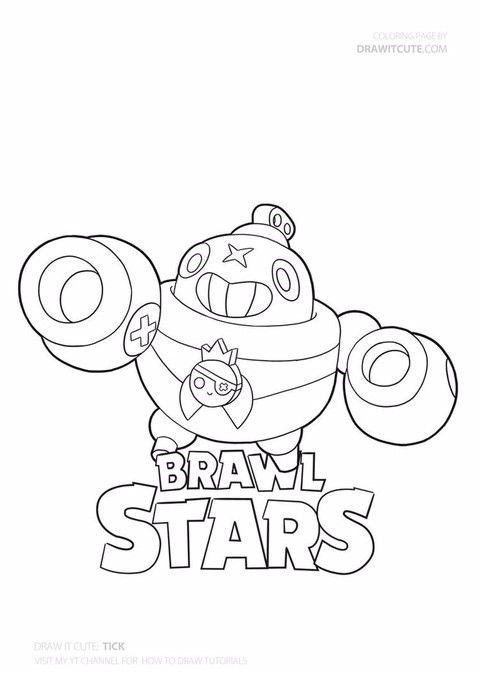 Brawl Stars 브롤스타즈 색칠공부 프린트 도안 모음 네이버