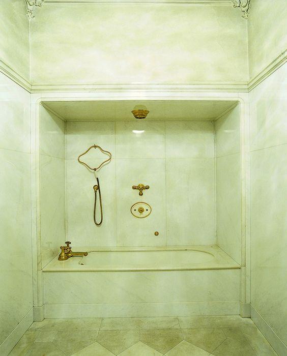 badezimmer von kaiserin zita - http://www.schoenbrunn.at