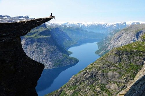 Trolltunga, Norway.