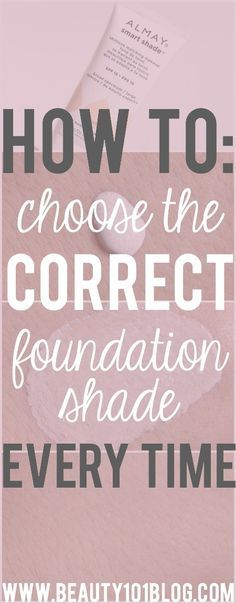 Have you ever picked a foundation color only to get home and realize you were WAY off? Check out these tips on picking the perfect shade! #ad #almay