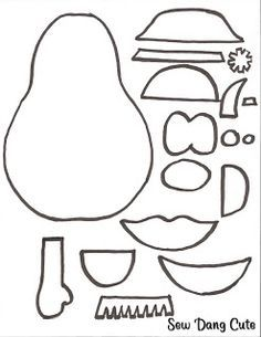 Mr. Potato Head Pattern