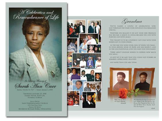 Obituary Design Obituary design and layout using Photoshop and ...