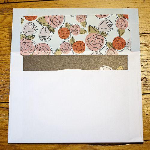envelope liner instructions