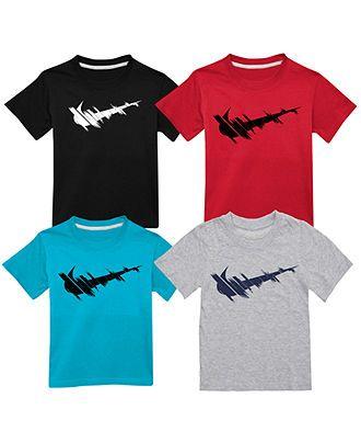 Nike Kids Shirt Little Boys Drop Shadow Tee - Kids Shirts - Macyu0026#39;s - Current Blue - 2T | My Love