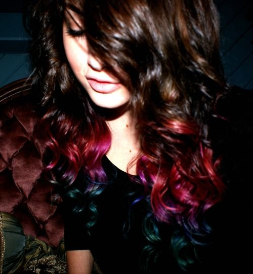 Ombré done right. So pretty.
