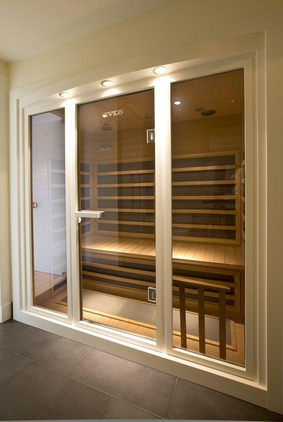 Luxury Home Sauna Cedardirect Com: Beautiful British Properties West #Vancouver #luxury #home