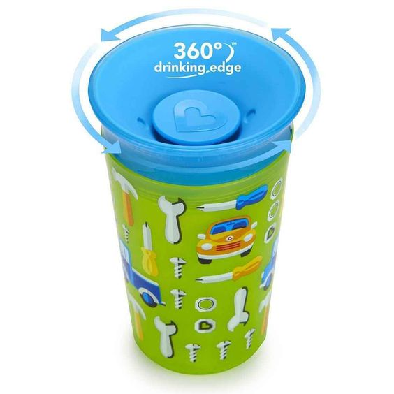 Munchkin Miracle Cup Car 9-ounce Sippy Cup