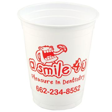 Image of 12 oz Soft Sided White Cup