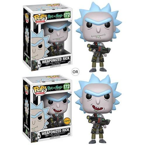 Pop! Rick and Morty Weaponized Rick Funko