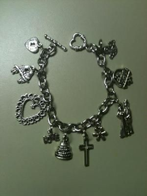 CHARM BRACELET - WEDDING / MARRIAGE  $12.00  FREE SHIPPING  Great bridesmaid gift too!!  See Yardsellr and Facebook for more details.