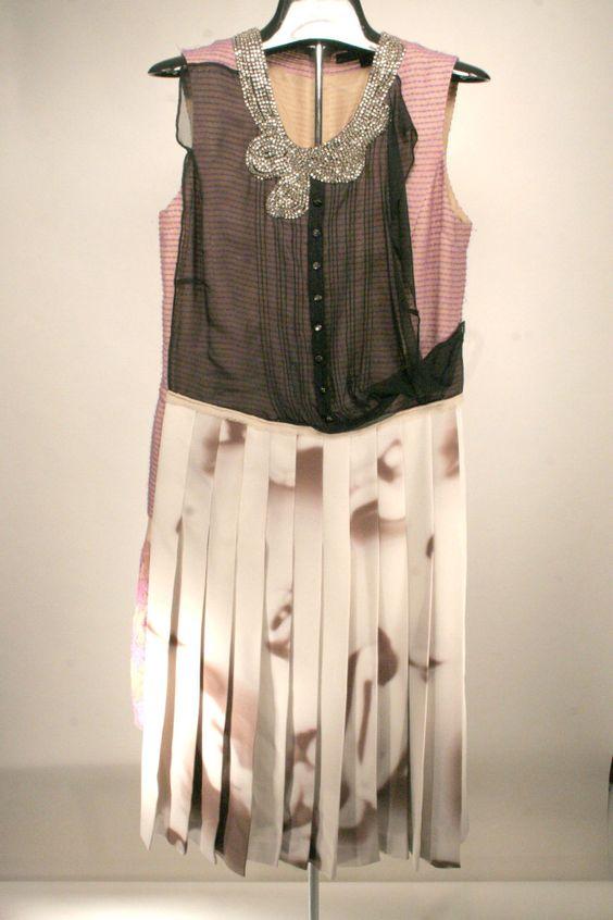 Marc Jacobs surreal dress