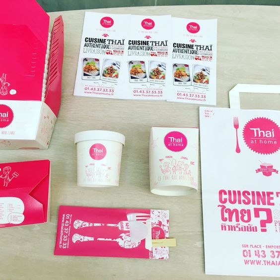 Thai at home packaging design