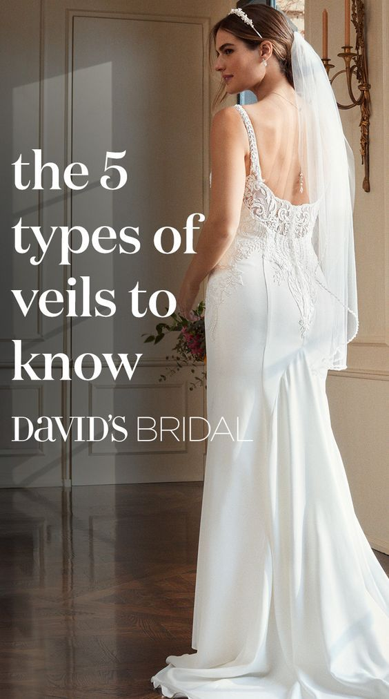 See All Your Options With Our Veil Guide Shop Every Length And Style At Davidsbridal Com Bridal Dresses Wedding Preparation Perfect Wedding Dress